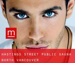 Hastings Street Public Sauna North Vancouver